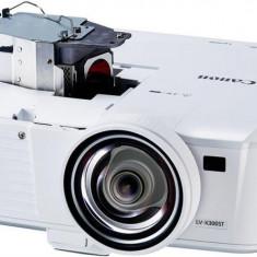 Proiector canon lv-x310stdlpxga 1280x7683100 lumeni 10.000:1aspect ratio 4:3lampa 6.000 ore ecomode hdmi mhllan rj-45 mini