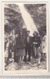 Bnk foto - Cascada Urlatoarea - anii `40 - Foto-film D Hasoti Busteni, Alb-Negru, Natura, Romania 1900 - 1950