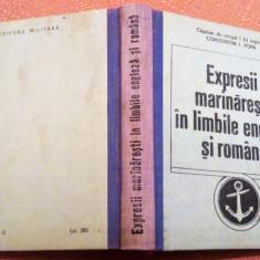 Expresii marinaresti in limbile engleza si romana - Editura Militara, 1992