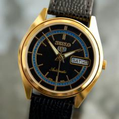 Ceas automatic Seiko 5,barbatesc,impecabil, Elegant, Mecanic-Automatic, Inox