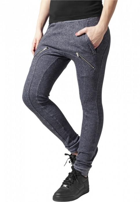 Pantaloni dama trening cu fermoare Urban Classics L EU