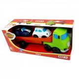 Set de joaca Camion cu 2 masinute moi Motor Town