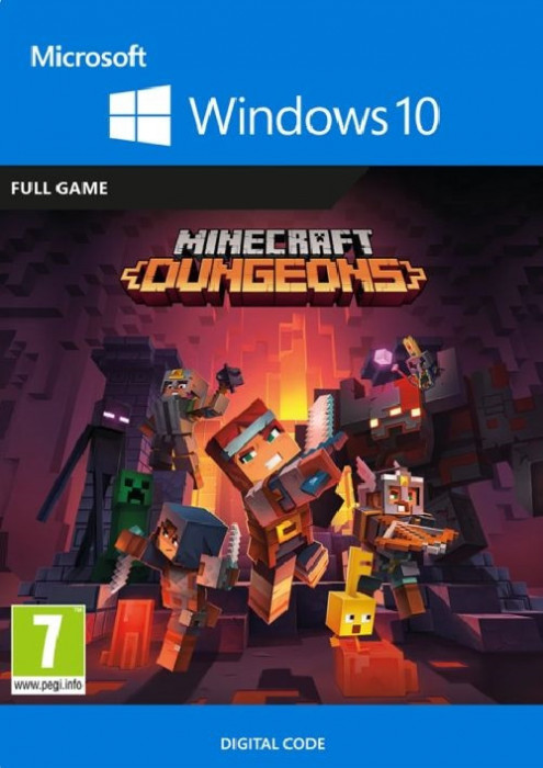 Minecraft Dungeons Windows 10 PC CD Key
