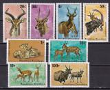 Rwanda  1975  fauna  MI 673-680  MNH  w65, Nestampilat