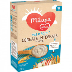 Cereale integrale cu mere Milupa, Vise placute, 250 g