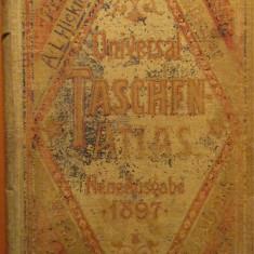 Atlas universal de buzunar (Universal Taschen Atlas) 1897