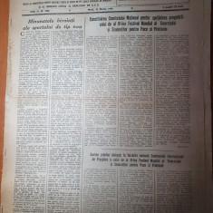 sportul popular 31 martie 1953-ciclo cros,gimnastica,tenis de masa,fotbal,sah