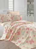Cuvertura de pat, Eponj Home, 143EPJ5641, Multicolor