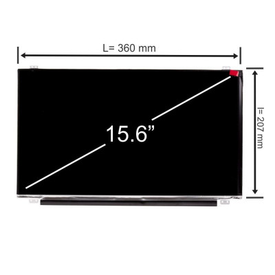 Display laptop, Toshiba, Satellite P50-C, 15.6 inch, LED, HD, 1366x768, slim, 30 pini, Second Hand foto