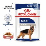 Pliculeț Royal Canin Maxi Adult 140 g