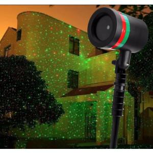 Proiector laser Shower Motion -joc de lumini laser