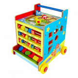 Antepremergator lemn Montessori 8in1