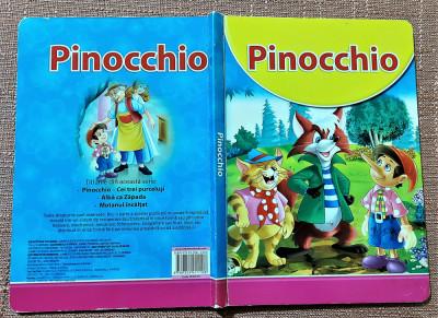 Pinocchio. Carte pentru copii cu ilustratii color, cartonata - Tiparit in China foto