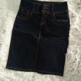 Fustă jeans, 36/38, Din imagine