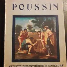 Carte Nicolas Poussin picturi editata anii 1930