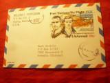 Carte Postala speciala - Primul Zbor Trans- Pacific din 1931 - SUA 1982