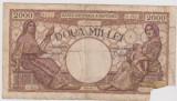 2000 LEI 2 MAI 1944/SATISFACATOARE