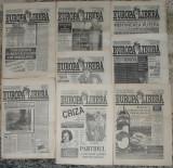ziar Aici Radio Europa Liberă, anul I 1991,8 numere,ziare dupa Revolutie anii 90