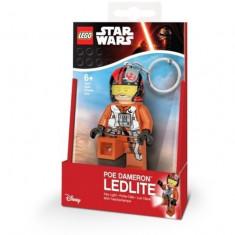 Breloc cu lanterna LEGO Star Wars Poe DameLEGO (LGL-KE95)
