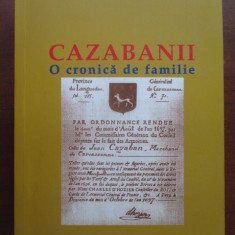 Cazabanii. O cronica de familie-Eugen Dimitriu