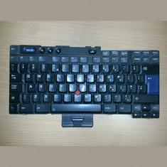 Tastatura laptop second hand IBM T4x R50 R51 US cu 3 prinderi