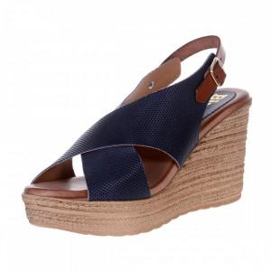 Sandale Platforma Ibizza BLU
