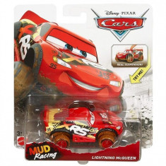 Jucarie Mattel Cars Mud Racing Lightning Mcqueen