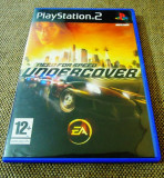 Need For Speed Undercover, NFS, PS2, original!, Curse auto-moto, 3+, Single player, Ea Games