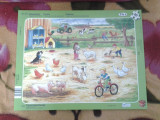 Toy Ferma Puzzle copii 10 piese +1 an