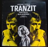 Caiet program Leonid Zorin - Tranzit (Bulandra, 1974; scenograf: Liviu Ciulei)