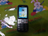 Cumpara ieftin Telefon Rar Nokia C5-00 Silver. Liber retea livrare gratuita!, Gri, Neblocat
