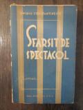 SFARSIT DE SPECTACOL - OVIDIU CONSTANTINESCU ( DEDICATIE , AUTOGRAF )