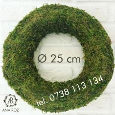 Coronita 25cm Inel baza mușchi aranjamente Decorațiuni florist DIY, Julimex