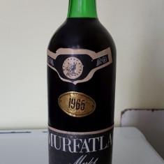 Sticla de vin Murfatlar Merlot 1965,cu o vechime de 54 ani