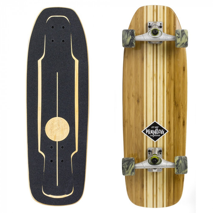 Surf Skate Mindless Longboards Bamboo 30''/76cm