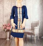 Cumpara ieftin Rochie stilizata cu motive traditionale Georgiana 2, 38