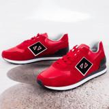 Pantofi sport barbati rosii Akalis