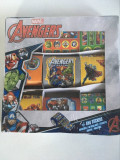 Stickere Avengers Marvel, 650 stickere in cutie nedesfacuta, sigilata