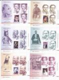 ROMANI CELEBRI II,MINICOLI,2018 MNH **,Lp.2202c, ROMANIA., Oameni, Nestampilat