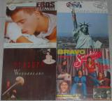 Vinyl Erasure,Smokie,Gianna Nannini,Eros Ramazzotti VG spre VG+,40 lei bucata, VINIL