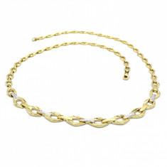 Colier realizat din aur 14K, Stil Elegant, cod 179186