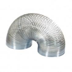 Jucarie clasica Slinky Keycraft, alama argintie, 3 cm, 3 ani+