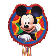 Pinata Party cu panglici Disney Mickey Mouse