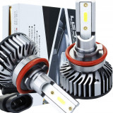 Set becuri LED auto F2 9005/HB3, 50W, 4000Lm, 6500k CANBUS, Universal