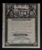 Actiuni 1931 Fabrica de sticlarie Turda - titlu - actiune