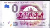 !! 0 EURO SOUVENIR - GERMANIA , 30 ANI CADEREA ZIDULUI BERLINULUI - 2019.6 - UNC