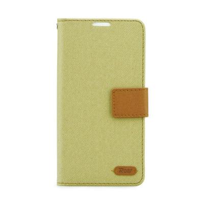 Husa SAMSUNG Galaxy S6 Edge - Roar Diary (Kaki) foto