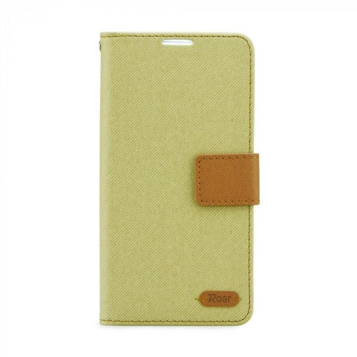 Husa SAMSUNG Galaxy S6 Edge - Roar Diary (Kaki)