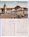 Targu Mures- Piata - rara, Circulata, Printata