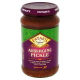 Pataks Aubergine (Brinjal) Pickle Medium (Muraturi Indiene de Vinete) 312g